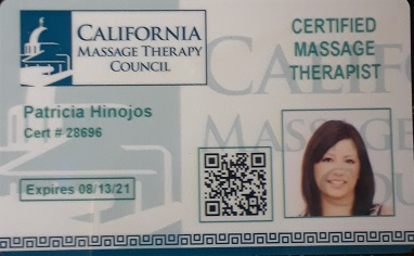 Tricia Hinojos, Certified Massage Therapist